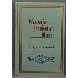 BOOK ON NAVAJO INDIAN  SHEPHERD AND WEAVING (GLADYS REICHARD)