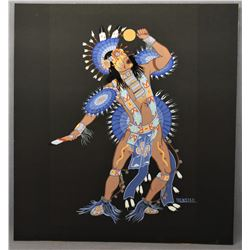 PLAINS INDIAN PAINTING (BENSTED)