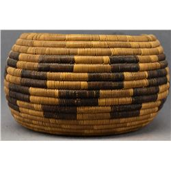 CALIFORNIA MISSION INDIAN BASKETRY BOWL