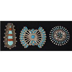 ZUNI INDIAN PINS