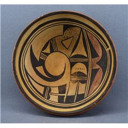 HOPI INDIAN POTTERY BOWL (TEUWA)
