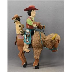 NAVAJO INDIAN FOLK ART SCULPTURE (DELBERT BUCK)