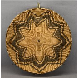 APACHE INDIAN BASKETRY TRAY