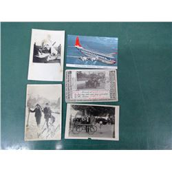 Transportation Postcards - Airplane Wreck