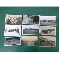 Farm and Railway Postcards
