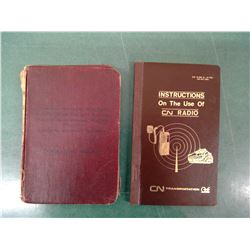 1929 CNR Book Etc.