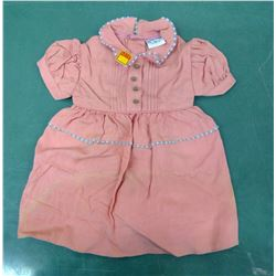 New Old Stock Childs Dress