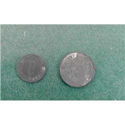 WWII German Coins