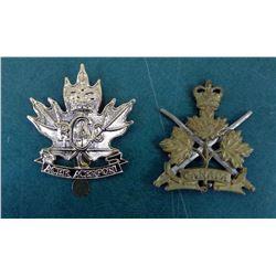 Canada Regiment Badges - 1 Damaged