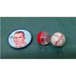 L.A. Dodgers 1960s Chocolate Baseball Etc.