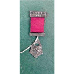 Sterling 1908 Medal