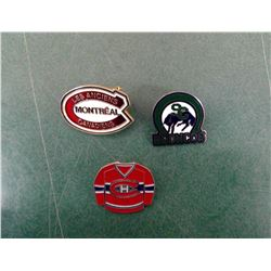 Montreal Canadians Pins