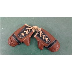 Tiny Leather Boxing Gloves