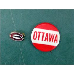 Ottawa Roughriders Pin Back
