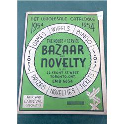 1954 Novelty Catalogue