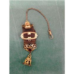 Watch Chain with Jewel