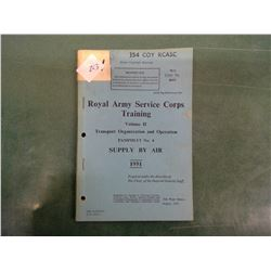 Royal Army Book