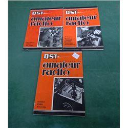 3x Shortwave Radio Books 1930s
