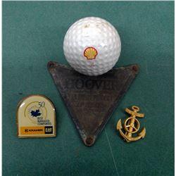 Shell Golf Ball Etc.