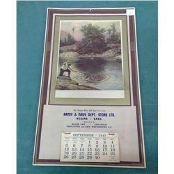 1943 Army-Navy Calendar