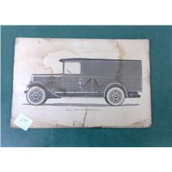 Model T Manual - Not Complete