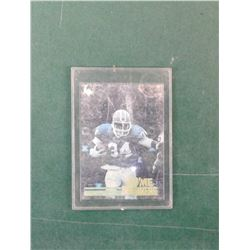 Thurman Thomas Hologram card