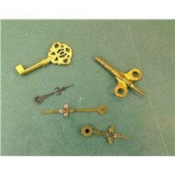 Clock Keys, Clock, and Misc.