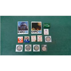 Matchbooks and Ontario Tokens