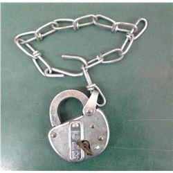 Mint CNR Lock and Key