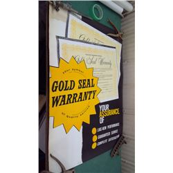 CASE 1960s Gold Seal Poster