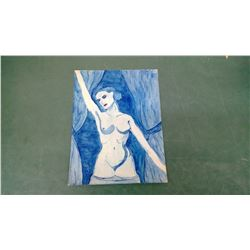 Early Nude Watercolour