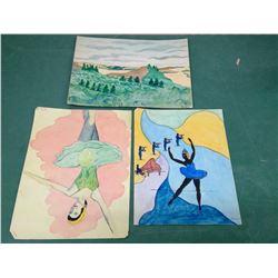 Water Colour Prints
