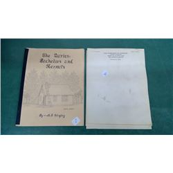 Portreeve Sask I-H Note Pages & Tisdale History Book