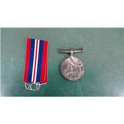 MIB WWII Canada Star Badge & Ribbon
