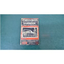 Plymouth Car Repair Book