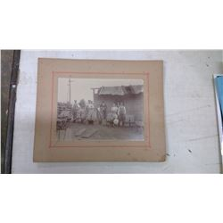 1900 Construction Site Cabinet Card