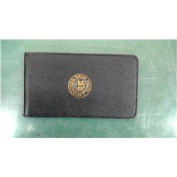 Antique Railway Ticket Wallet