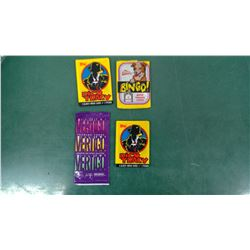 Collector Cards Wax Packs