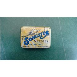 Songster Phono Needle Tin - Full