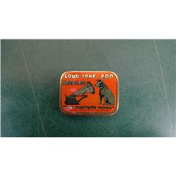 Berliner 1900 Full Needle Tin