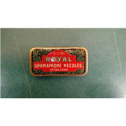 Royal Phono Needle Tin - Full