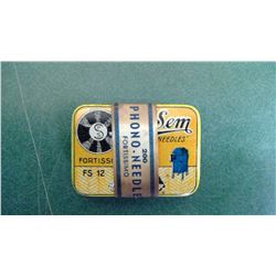 Sem Phono Needle Tin - Full