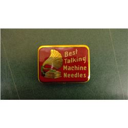 Best Talking Phono Needle Tin - Full