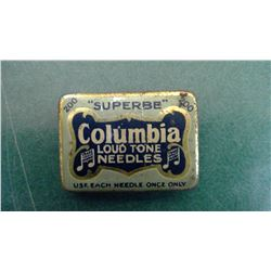 Columbia Full Needle Tin