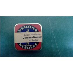 Verona Full Mint Needle Tin