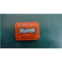 Bagshaws Empty Needle Tin