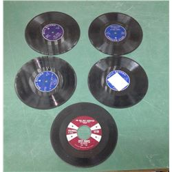 Tiny 78 NOT 45 RPM Records