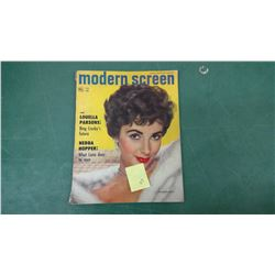 Elizabeth Taylor 1953 Movie Mag