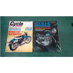 1968 Motorcycle Magazines