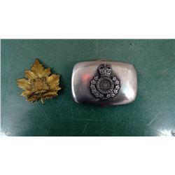 Ontario Police Buckle & Badge